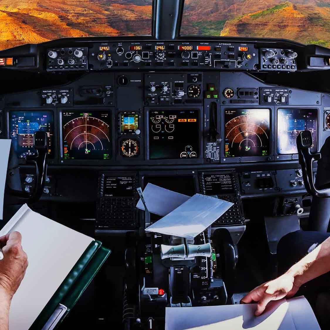 Global Aviation Services Frequencia Test